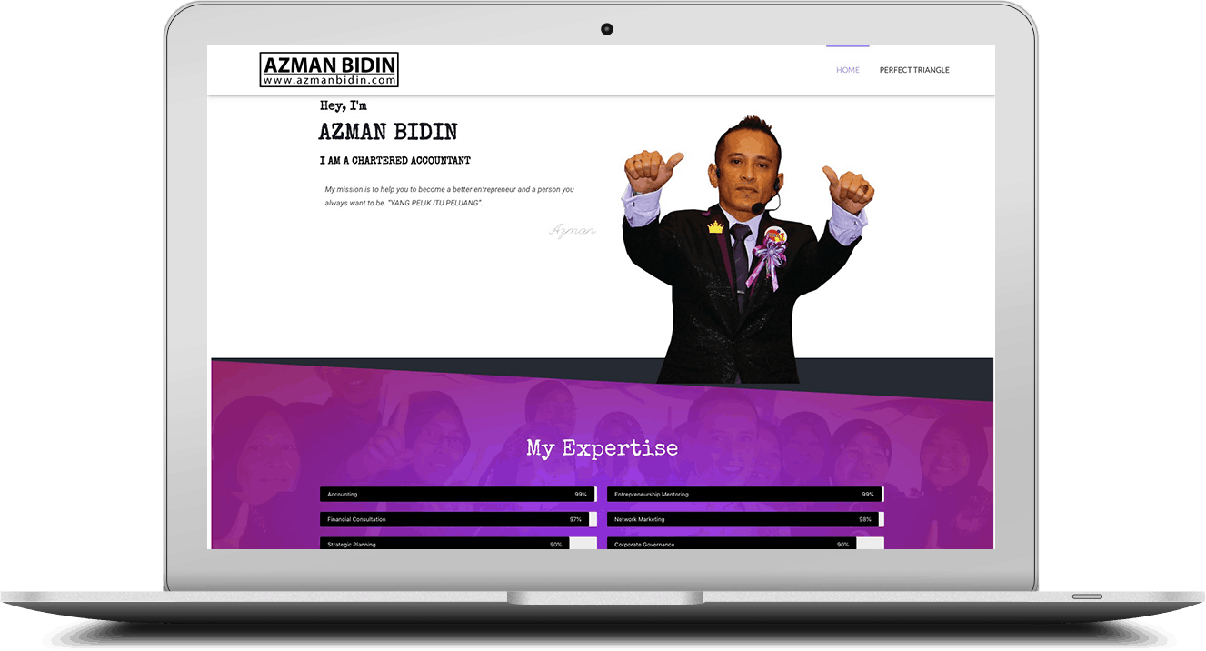 Website Azman Bidin
