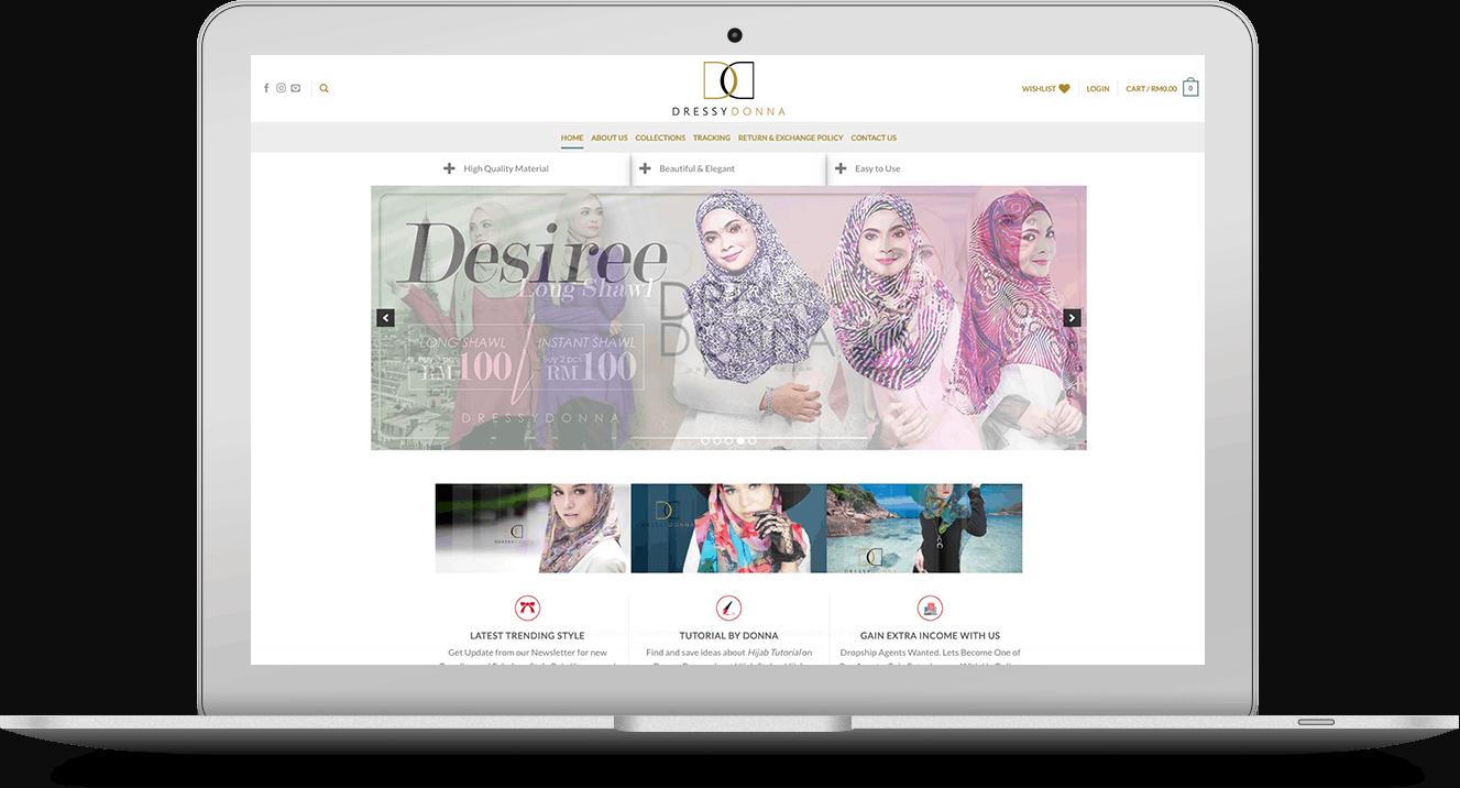 Website Dressy Donna