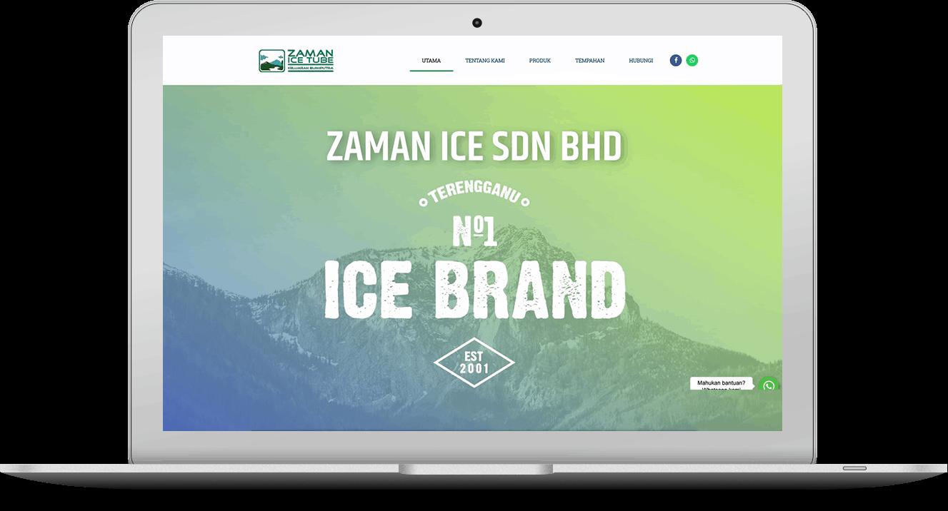 website Zaman Ice