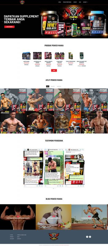 POWER MANIA NUTRITION 2