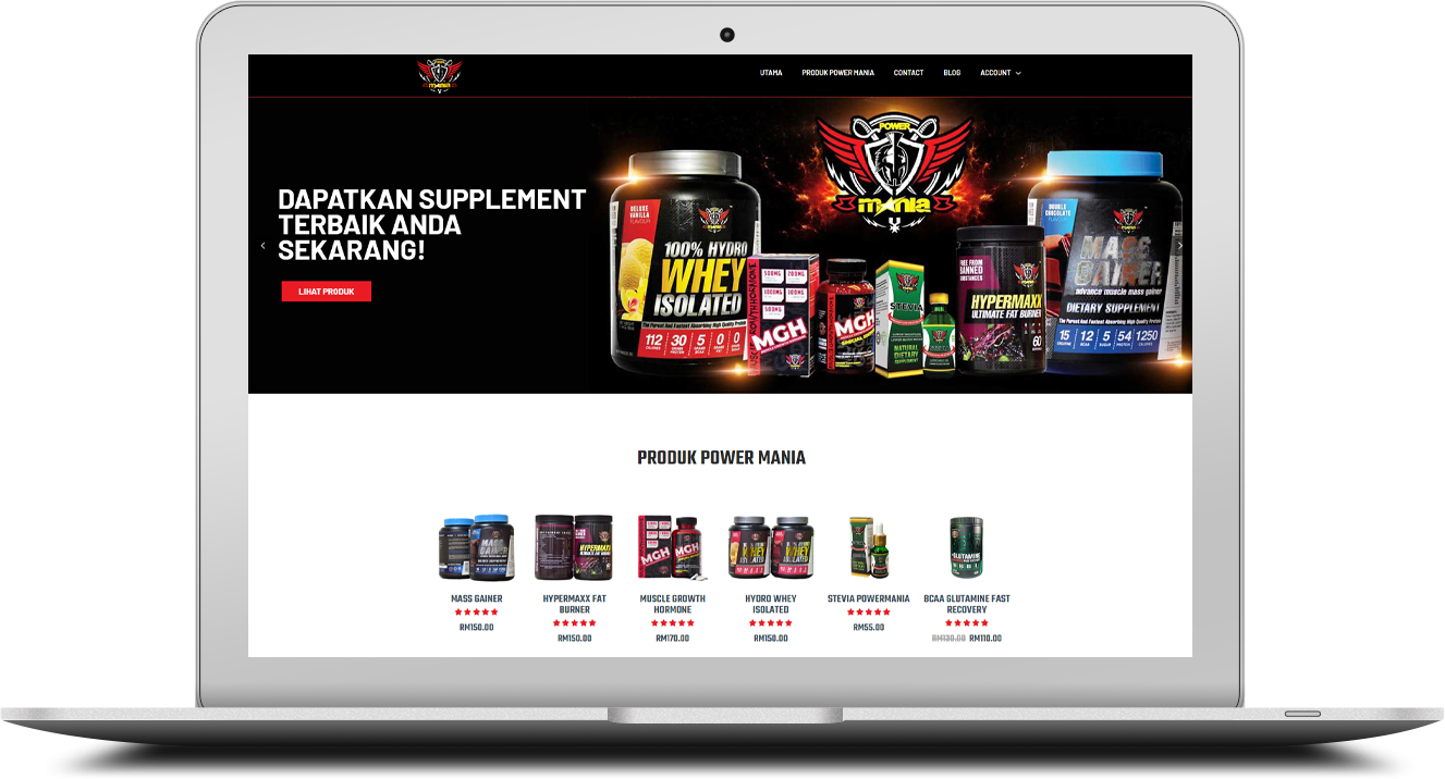 POWER MANIA NUTRITION 1