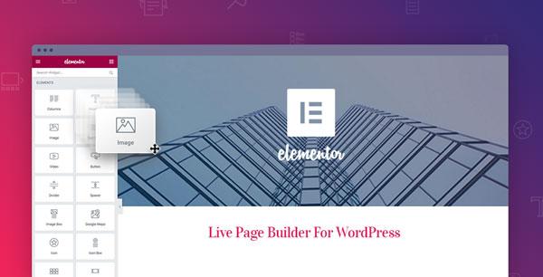 bina website menggunakan elementor